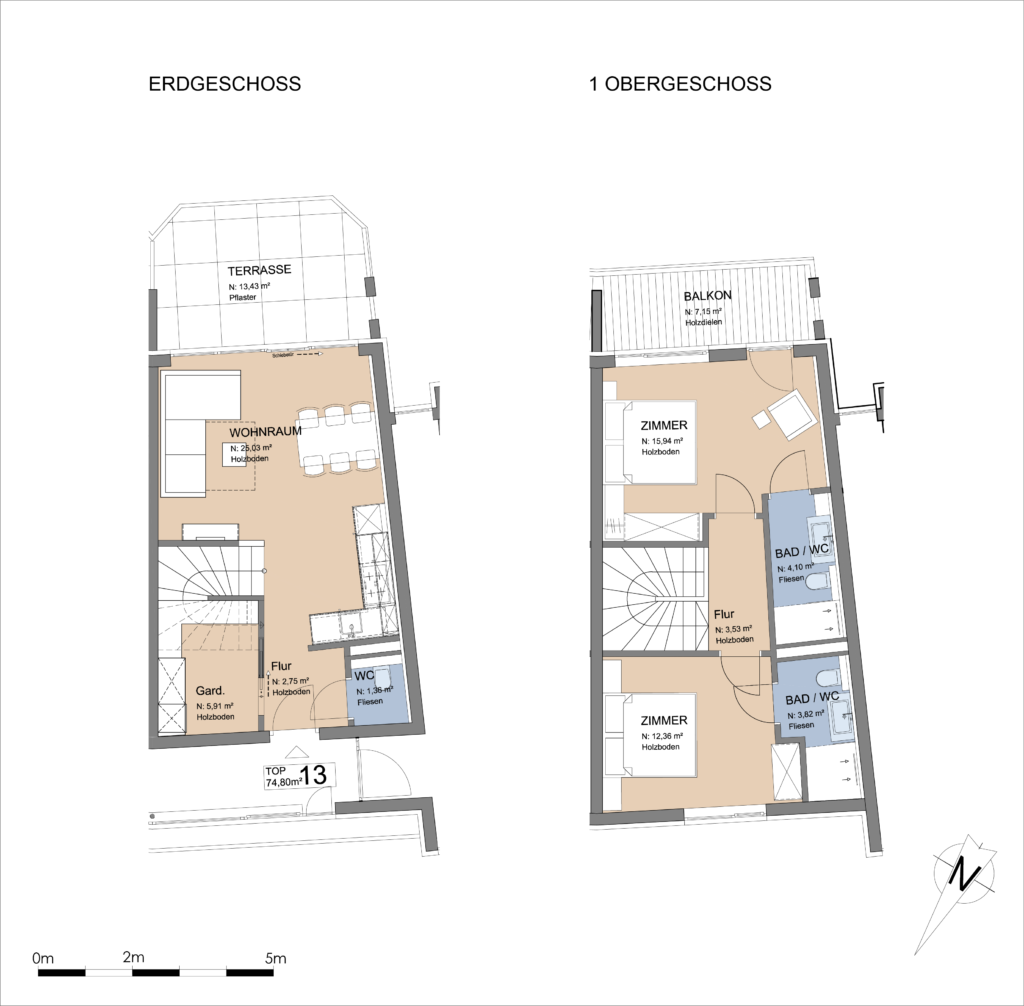 Plan Apartment Zell am See