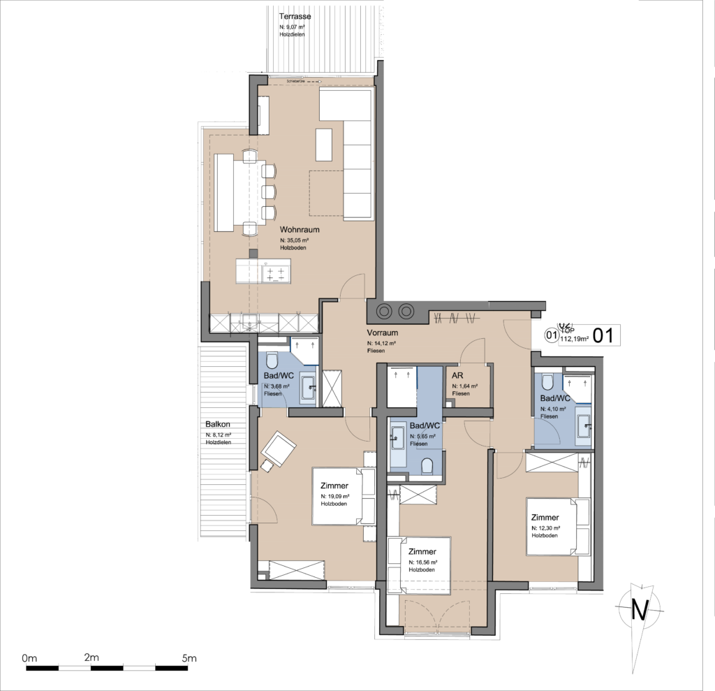 Lakeside Luxury Apartments Plan Traunsee